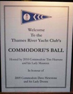 2010 - Commodore's Ball
